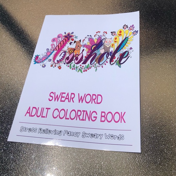 ADULT Swear coloring book